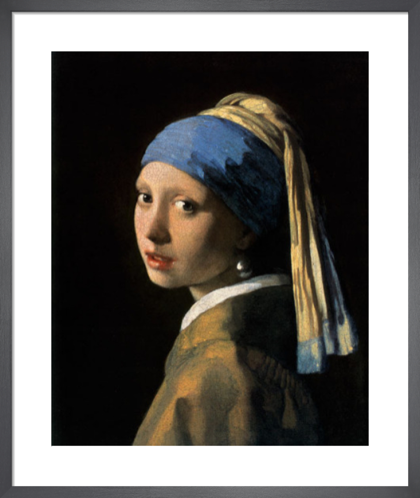 8be3030c6e3 Girl with a Pearl Earring Art Print by Johannes Vermeer