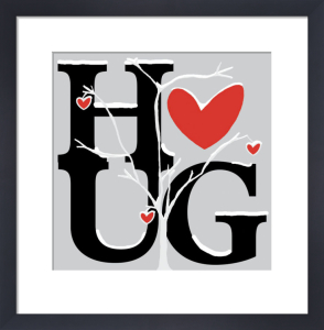 Hug (Winter) by Erin Clark
