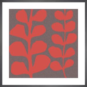 Maidenhair Coral Stem (double) by Denise Duplock