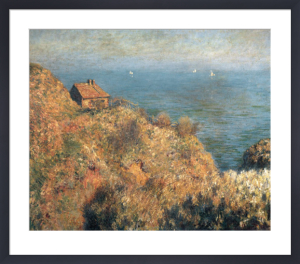 Fishermans lodge at Varengeville by Claude Monet