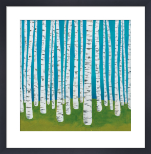 Birch Grove by Lisa Congdon