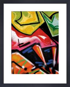 Colorful Graffiti (detail by Jenny Kraft