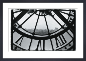 Clockface at the Musee d'Orsay by Christian Peacock