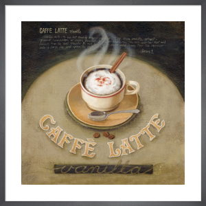 Café Latte by Lisa Audit