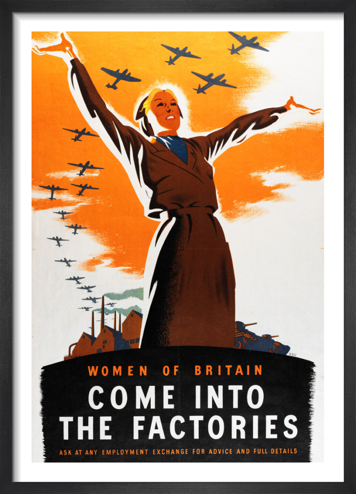 Women of Britain - Come into the Factories by Philip Zec