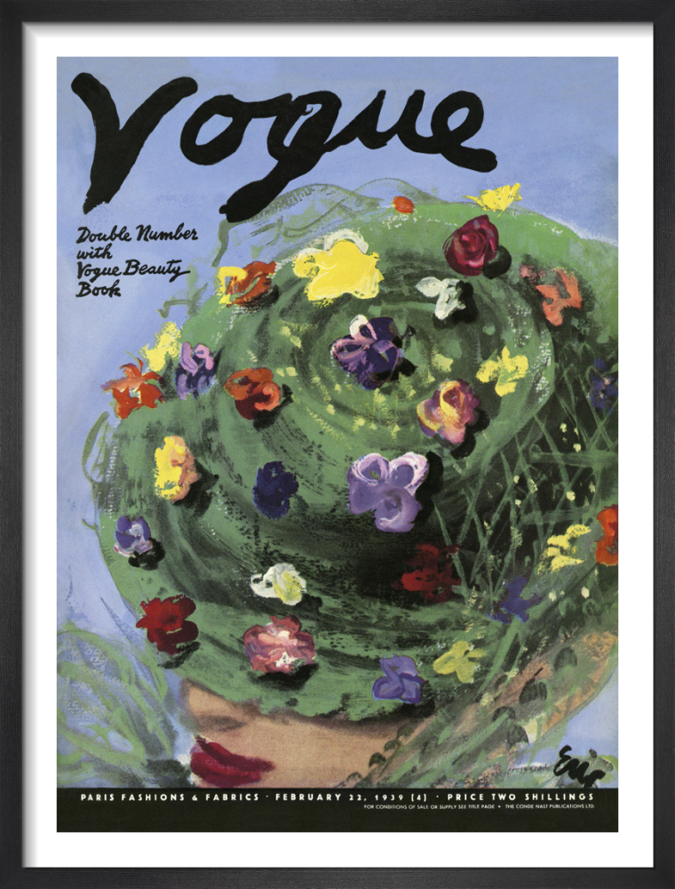 Vogue February 1939 by Eric