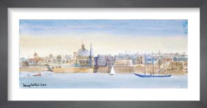 Valletta Skyline by Lucy Willis