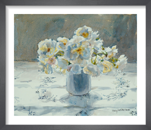 White Roses by Lucy Willis