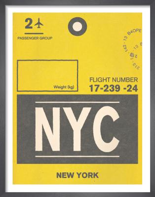 Destination - New York by Nick Cranston