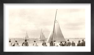 Solent Sailing Spectators by Anonymous