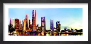 Singapore Sunset by Henry Reichhold