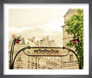 Paris Art Nouveau Metro by Keri Bevan