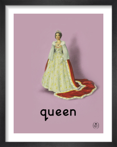 queen by Ladybird Books'