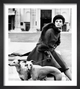 Vogue September 1961 by Henry Clarke