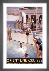 Orient Line Cruises by Anonymous
