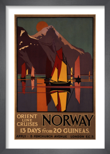 Norway by M V Jones