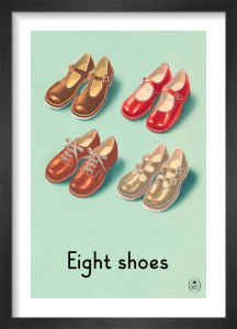 Eight shoes by Ladybird Books'