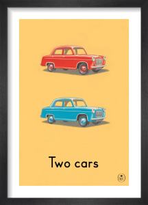 Two cars by Ladybird Books'