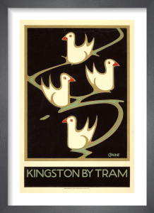 Kingston by Tram, 1920 by Charles Paine