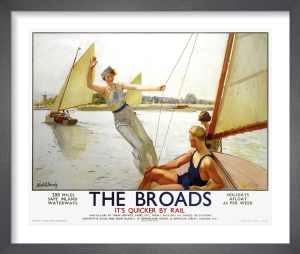 The Broads by Septimus E Scott