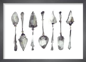 Seven Cake Slices by Bridget Davies