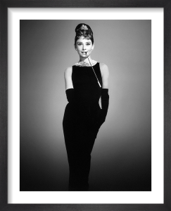 Audrey Hepburn (Breakfast at Tiffany's) 1961 by Hollywood Photo Archive