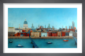 View from the Tate by Emma Brownjohn
