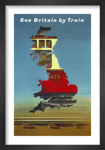 See Britain by Train, British Rail by Abram Games