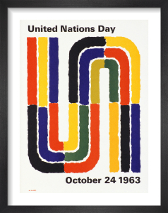 United Nations Day by Abram Games