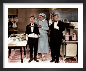 Laurel and Hardy (From Soup to Nuts) 1928 by Hollywood Photo Archive