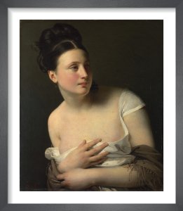 The Surprise by Claude-Marie Dubufe