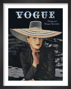 Vogue August 1942 by John Rawlings