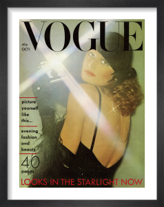 Vogue October 1974 by Oliviero Toscani