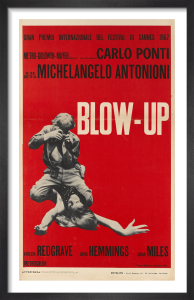 Blow-Up (italian - red) by Cinema Greats