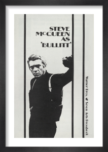 Bullitt (trade ad) by Cinema Greats