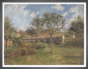 A Corner of the Meadow at Eragny, 1902 by Camille Pissarro