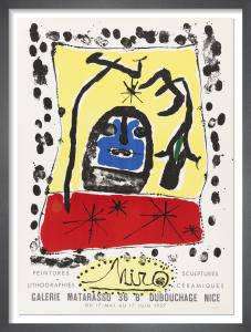 Galerie Matarasso, 1957 by Joan Miro