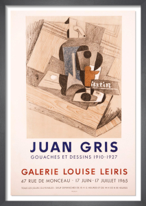 Galerie Louise Leiris, 1965 by Juan Gris