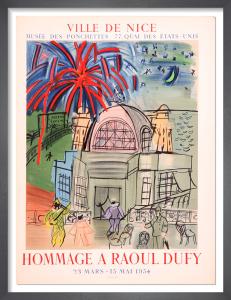 Hommage a Raoul Dufy, 1954 by Raoul Dufy