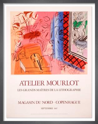 Atelier Mourlot Magasin du Nord - Copenhague, 1987 by Raoul Dufy
