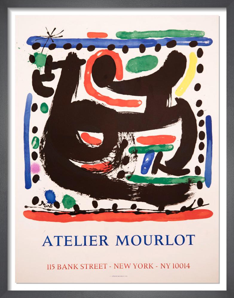 Atelier Mourlot, Bank Street, New York, 1967 by Joan Miro