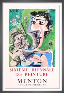 Sixieme Biennale de Peinture, 1966 by Pablo Picasso