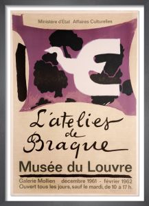 L'Atelier de Braque, 1961 by Georges Braque