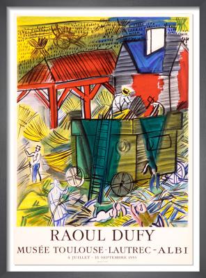 Musée Toulouse-Lautrec - Albi, 1955 by Raoul Dufy