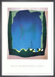 Freefall (Trial Proof, 1992) by Helen Frankenthaler