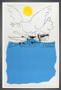 Congres Mondial pour le Desarmement General et la Paix, 1962 (no text) by Pablo Picasso