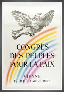 Congres des Peuples pour la Paix, 1962 by Pablo Picasso