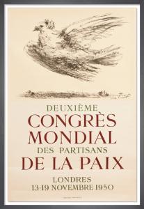 Deuxième Congrès Mondial des Partisans de la Paix, 1950 by Pablo Picasso