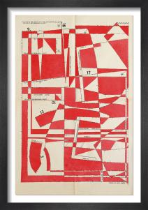 Lost Gardens No.3 (red) by Hormazd Narielwalla