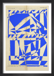 Lost Gardens No.11 (bright blue) by Hormazd Narielwalla